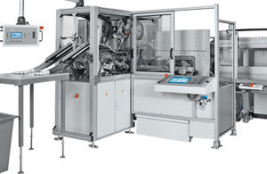 máquina de corte con cutter / de etiquetas / controlada por PLC / para producción en serie
