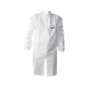 bata blanca / de trabajo / de protección química / antiestática