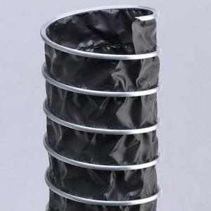 conducto de aire flexible / de tejido / de acero galvanizado / espiralado