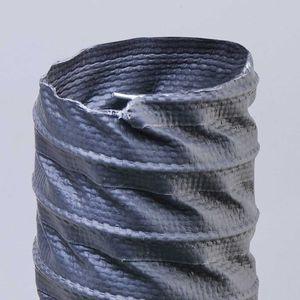 conducto de aire flexible / de tejido / de poliéster / de termoplástico