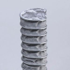conducto de aire flexible / de tejido / de acero galvanizado / de hilo metálico