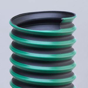 conducto de aire flexible / de termoplástico / de elastómero / de extracción de humos