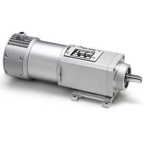 motorreductor coaxial / CC / de engranaje helicoidal / 100 W...500 W