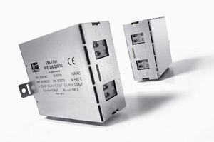 filtro electrónico paso bajo / activo / RFI / en riel DIN
