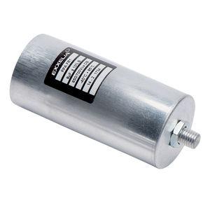 condensador eléctrico de película de polipropileno / de rosca / de compensación factor de potencia / no inductivas