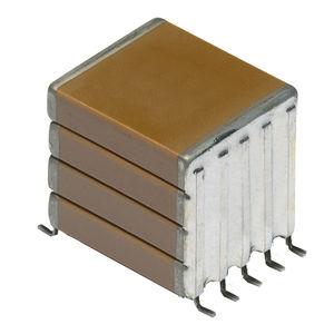 condensador eléctrico de cerámica / chip / de alta temperatura / de factor de capacidad