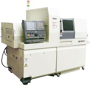 torno tipo suizo CNC / 5 ejes / universal / de alta precisión