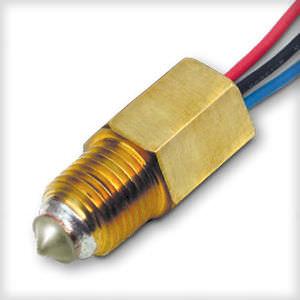 interruptor de nivel optoelectrónico / para agua / compacto / de latón