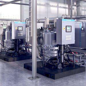secador de tambor / continuo / para la industria agroalimentaria / de aire