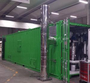 planta de cogeneración de biomasa