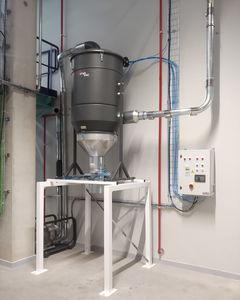 grupo de vacío centralizado / con bomba seca / sin aceite / para máquina modeladora de sección individual