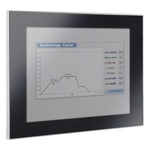 panel PC de LCD / con pantalla táctil capacitiva / 12
