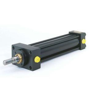 cilindro hidráulico / de simple efecto / de doble efecto / compacto