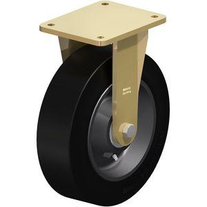 ruedecilla fija / con platino giratorio / altas cargas / de bajo ruido