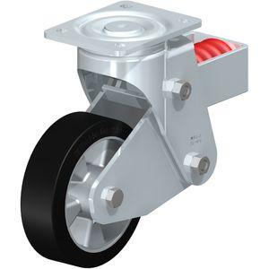 ruedecilla giratoria / con platino giratorio / con rodamiento de bolas / altas cargas