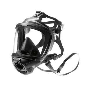 máscara de protección con ventilación asistida