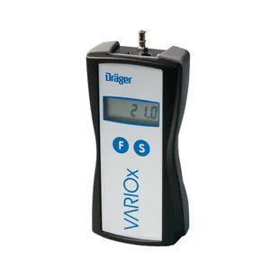 analizador de gas / de oxígeno / de dióxido de carbono / de monóxido de carbono