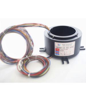 anillo colector eléctrico / árbol atravesante / robóticas / para antena radar