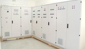 panel de distribución equipado