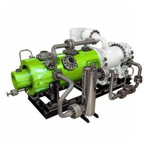 compresor compacto / de aire / estacionario / eléctrico