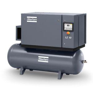 compresor de aire / estacionario / de pistón / sin aceite