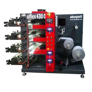 prensa flexográfica de 4 colores