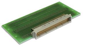 conector SMT / DIN / de fondo de panel / paralelo