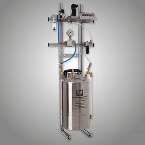 unidad de lubricación de aceite / de con la cantidad mínima / para el mecanizado de metales / para prensas