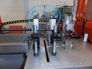 cortador con guillotina / de hoja rotativa