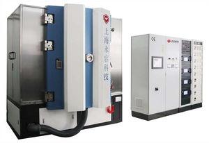máquina de deposición PVD / PE-CVD / por pulverización catódica con magnetrón / asistida mediante haz de iones