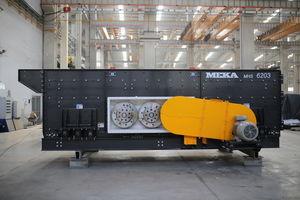 criba vibratoria / para productos a granel / para obra de construcción / para minas
