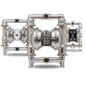 bomba de doble membrana / para productos agroalimentarios / neumática / industrial