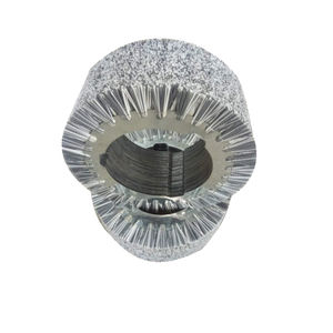 rollo cepillo cilíndrico / de acabado / de tratamiento de superficie / de nailon