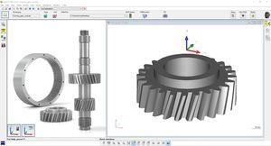 software de metrología / de simulación / de CAD / gráfico