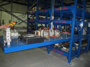 sistema de estanterías depósito de almacenamiento / para carga ligera / compacto / con tablas