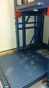 sistema de estanterías de taller / automatizado / con tablas / con cajones