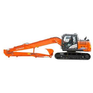 excavadora de gran alcance / intermedia / con orugas / para obra de construcción