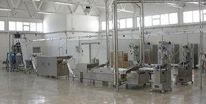línea de producción de pasta con secado