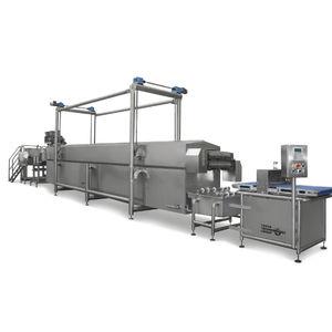 línea de producción de platos precocinados de canelones