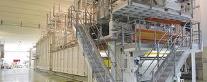 línea de producción de pasta larga