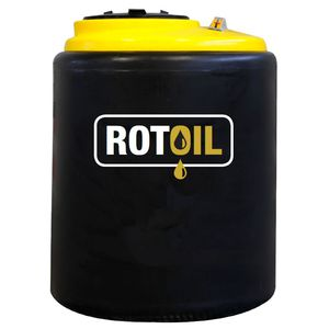 contenedor de basura de polietileno / para aceite usado / móvil / con tapa
