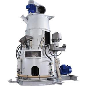 molino de cilindros con solera giratoria