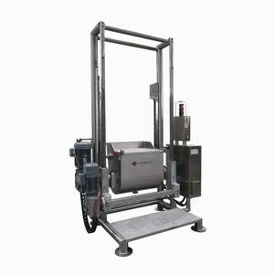 mezcladora de pasta industrial con giro