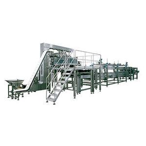 línea de producción de platos precocinados de pasta