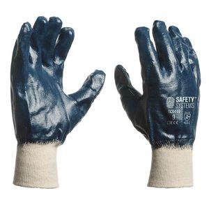 guantes de manipulación / a prueba de abrasión / de algodón / de nitrilo