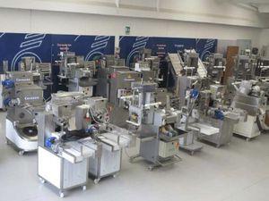 línea de producción de pasta seca