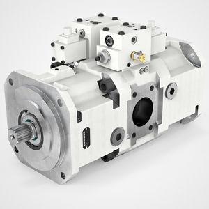 bomba hidráulica de pistón axial / de alta presión / de cilindrada variable / de bajo nivel de ruido