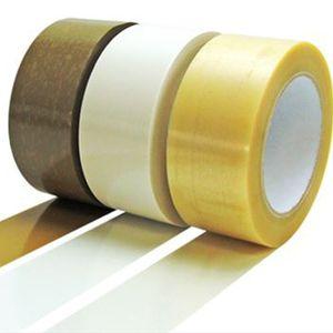 cinta adhesiva de PVC / para la industria / para embalajes / transparente