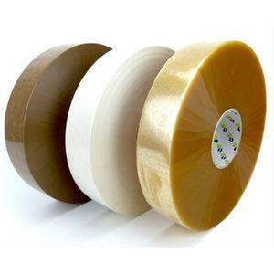 cinta adhesiva de fibra acrílica / de polipropileno / transparente