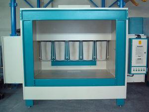 cabina de empolvado abierta / cartucho filtrante